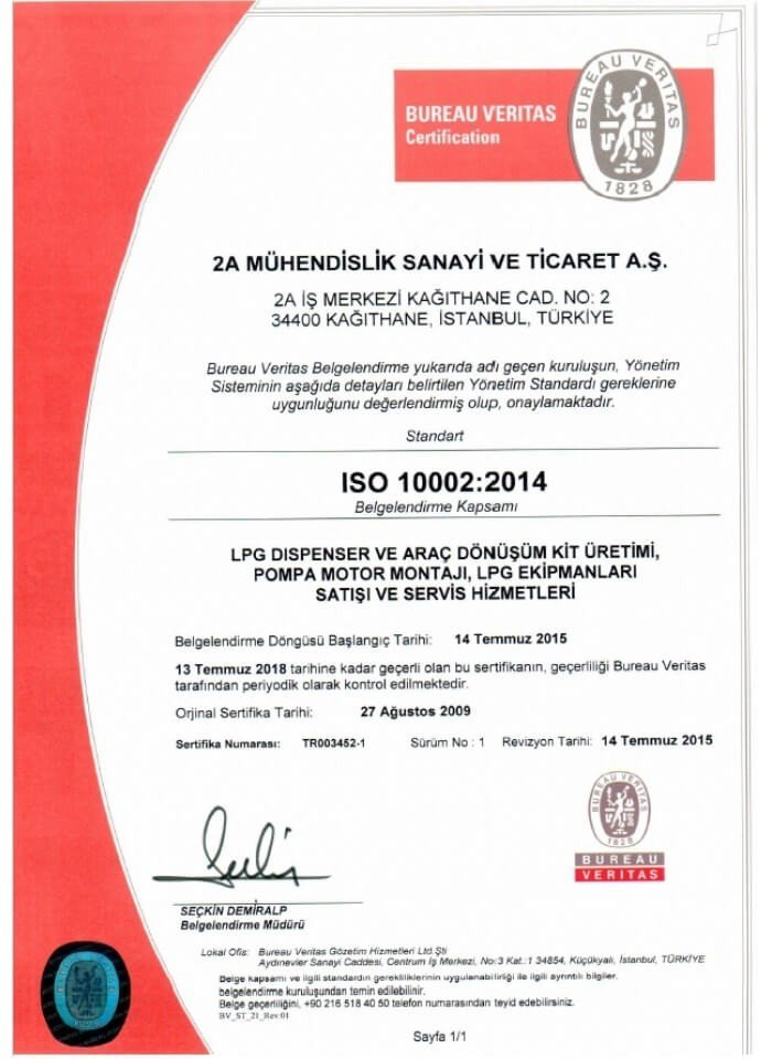 ISO 10002:2014